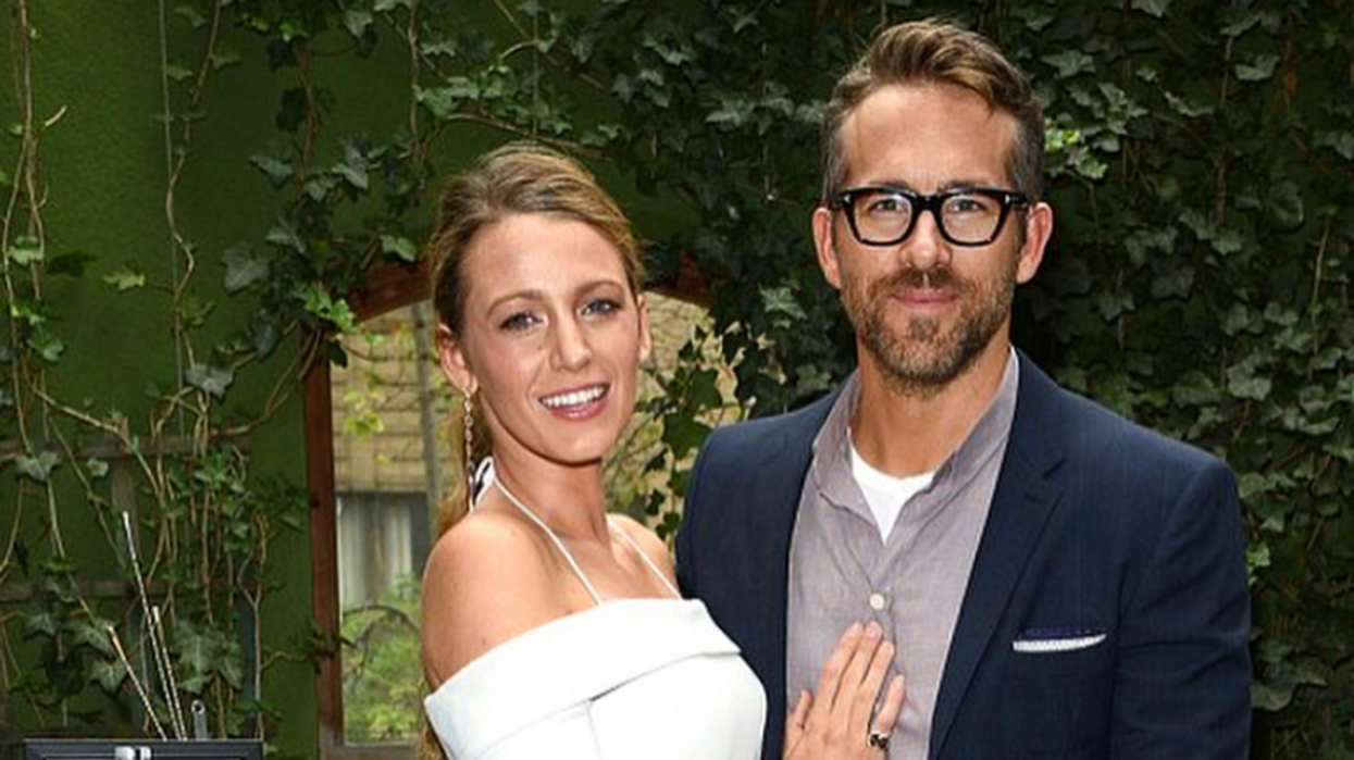 Blake Lively Just Gave Ryan Reynolds The Most Canadian Gift Ever And Now We're Crying