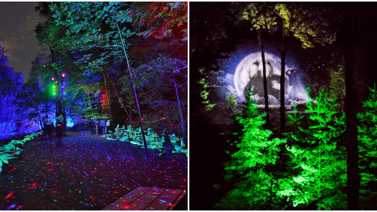 These 9 Illuminated Paths In Canada Will Take You On Super Magical Night Walks
