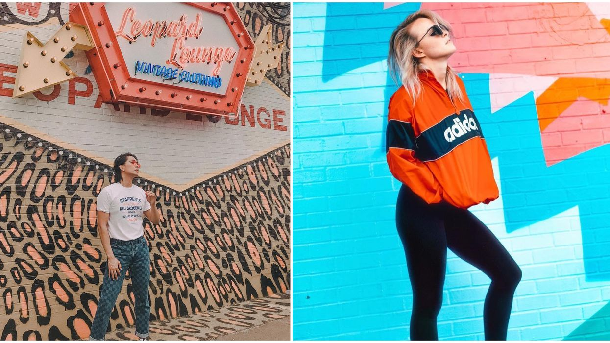 This Colorful Houston Vintage Shop Will Transport You Back To The '90s