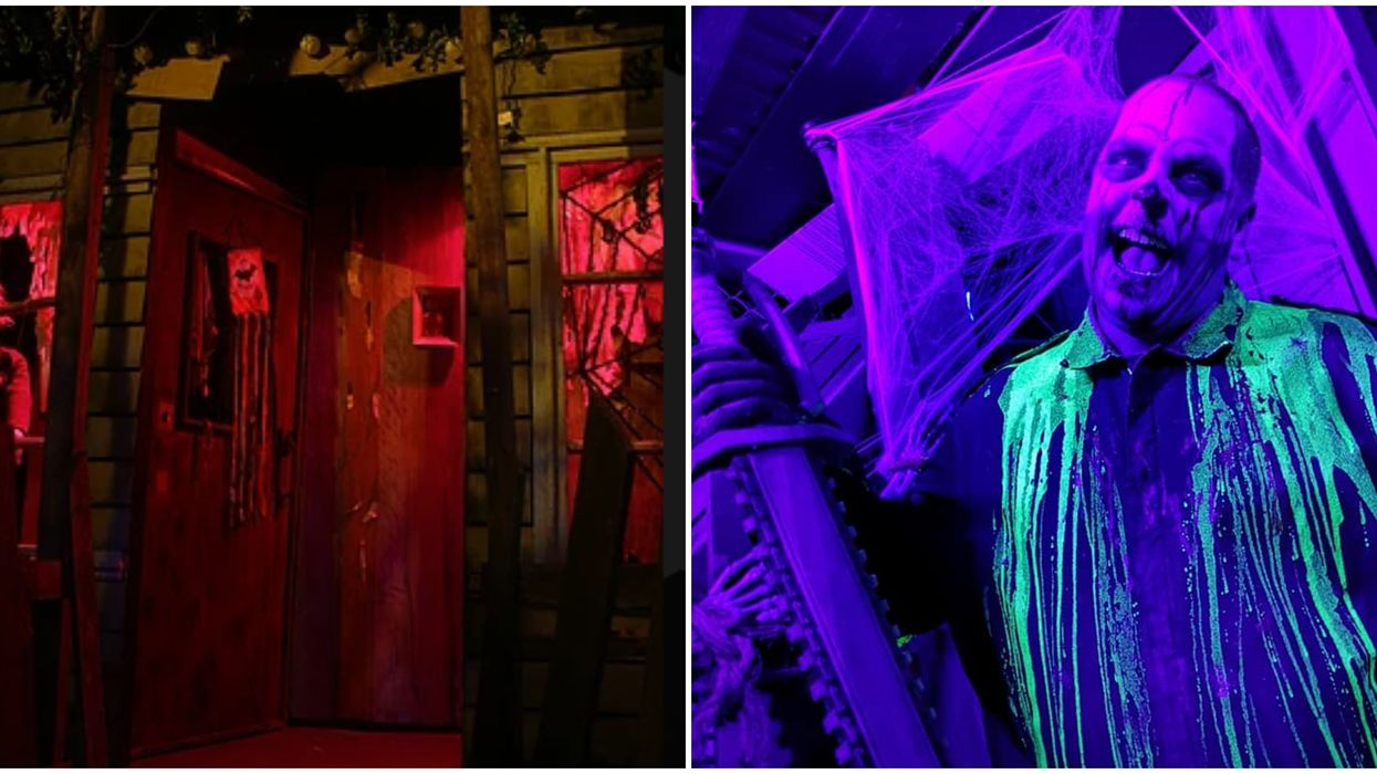 Vancouver's Most Terrifying Haunted House Will Trap You In An Old Motel With A Murderer