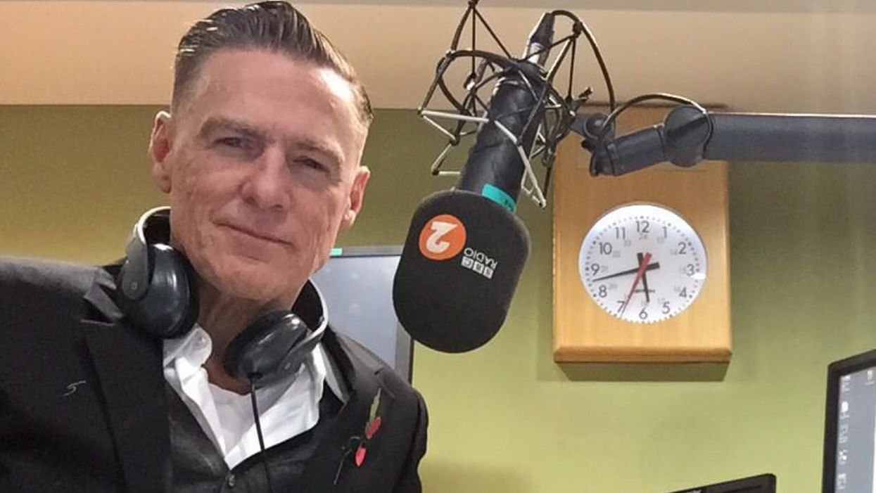 Bryan Adams Was Spotted Recording New Music This Weekend In Vancouver