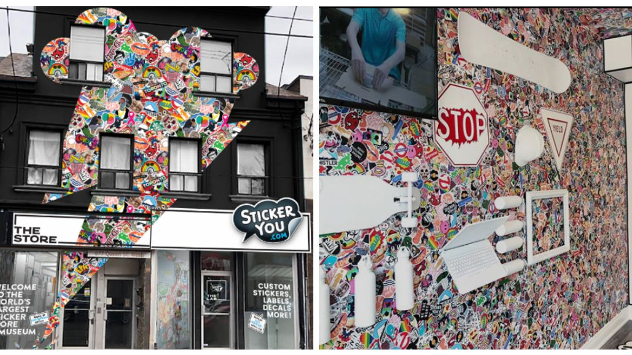 The World's Largest Sticker Store Just Opened In Toronto And We're OBSESSED