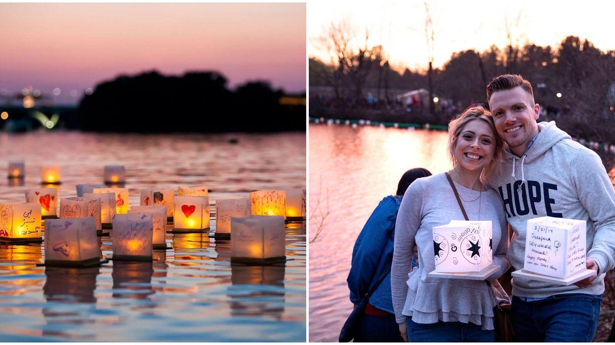 Edmonton's Romantic Water Lantern Festival Next Week Will Take Your Breath Away