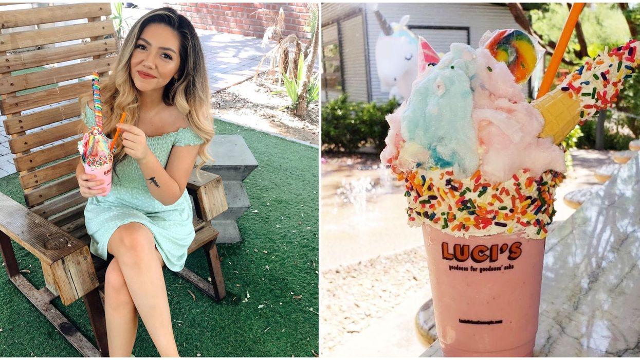 This Ice Cream Shop In Phoenix Serves Magical Unicorn Milkshakes And Fresh Gelato