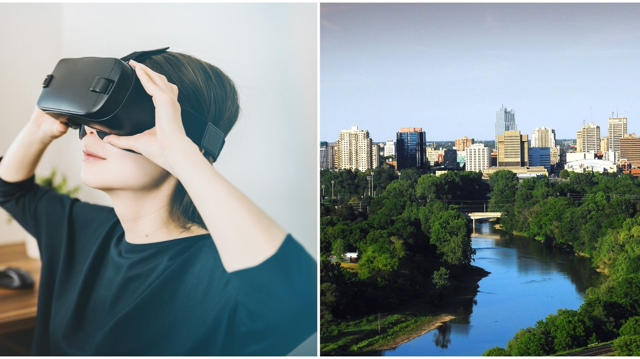 You Can 'Fly' Through This Ontario City With Their VR City-Planning Gadget