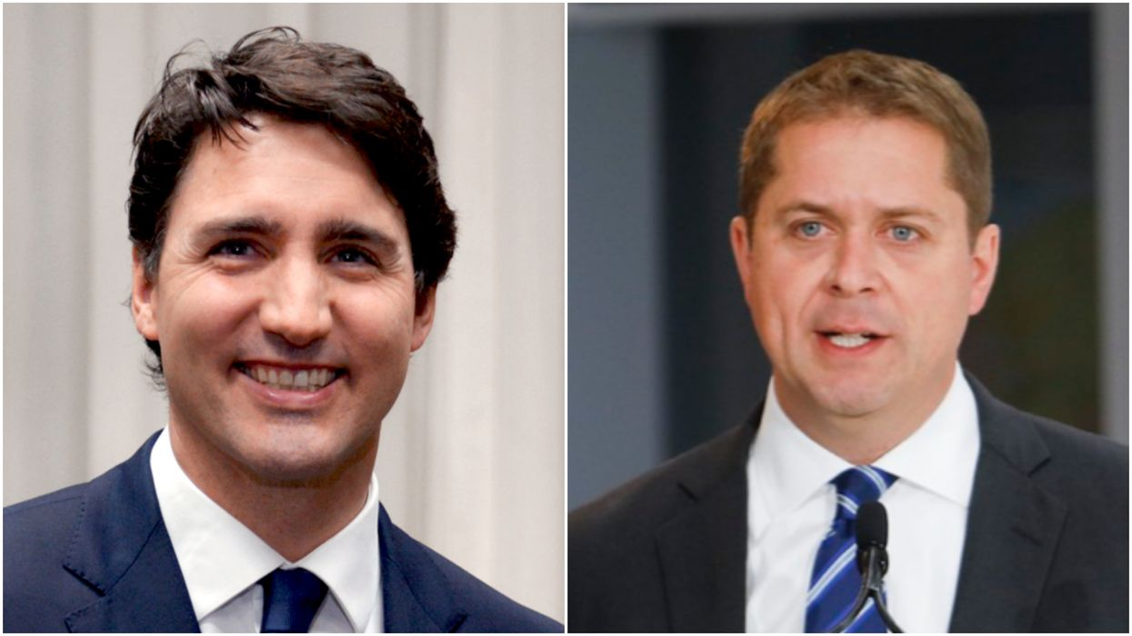 A New Poll Found Andrew Scheer Is The Only One Who Still Cares About The SNC Scandal