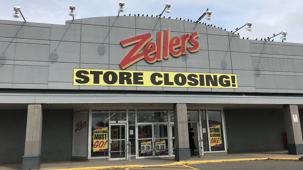 I Went To One Of The Last Zellers In Canada And It Was Not What I Expected