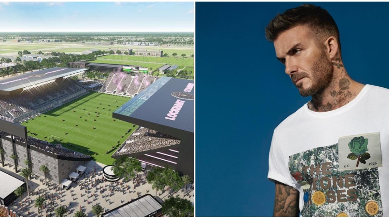 Arsenic Contamination Is Just One Of The Many Hurdles Beckham Is Dealing With