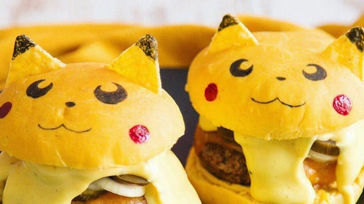 Tu pourras manger de délicieux burgers en forme de Pokémon à Montréal