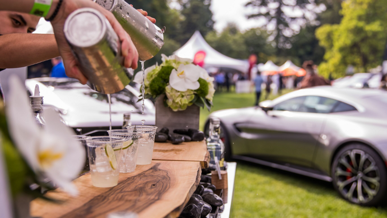 You Can Drink Champagne At This Ultra-Luxurious Supercar Show In Vancouver Next Month