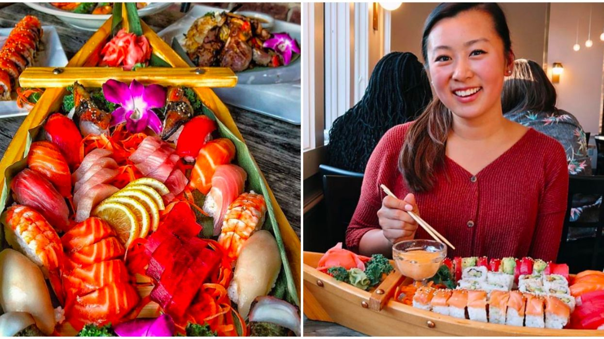 This Ocean-Themed Restaurant In Atlanta Serves Massive Sushi Portions In A Boat