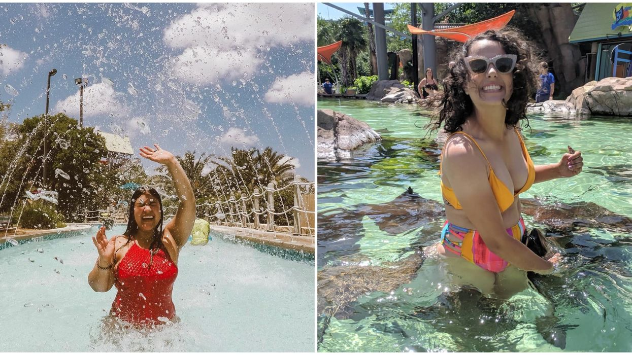 You Can Swim With Stingrays At This Water Paradise In San Antonio