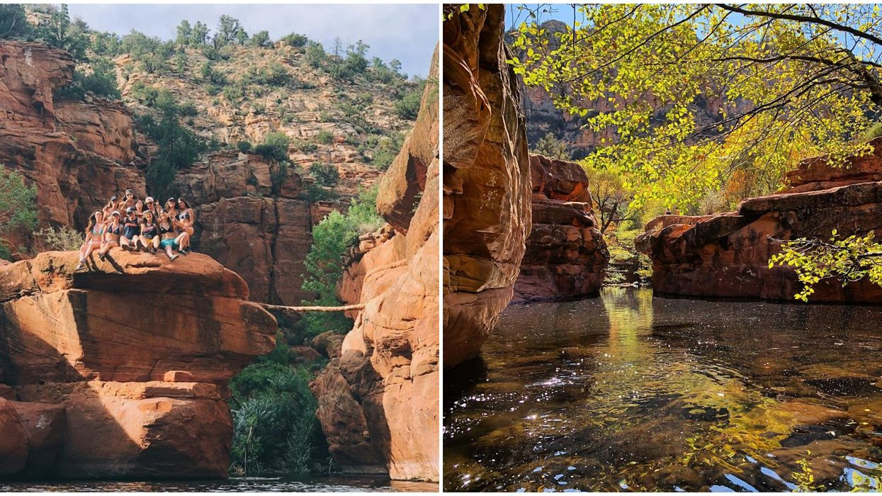 This Hidden Swimming Hole In Arizona Has The Clearest Water