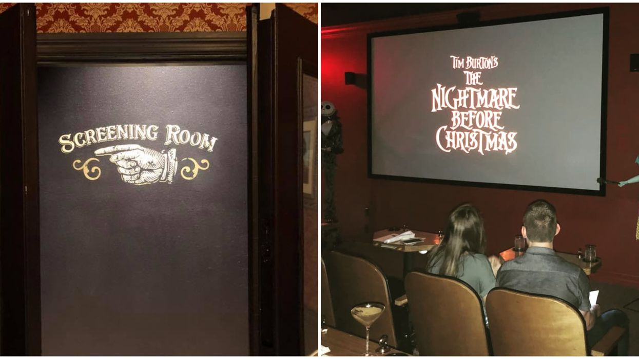 There Is A Secret Mini Movie Theater Hidden Inside A Tampa Bay Speakeasy