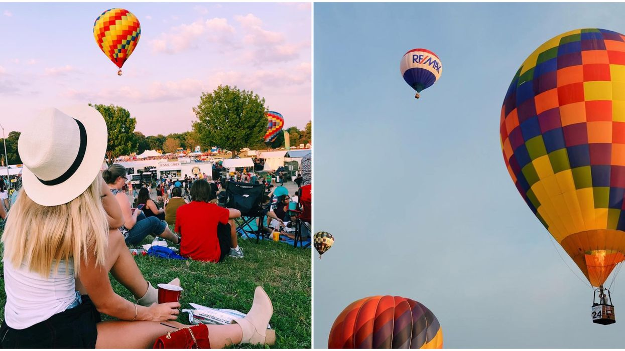 You Can Ride Hot Air Balloons For Cheap At This Plano Balloon Festival Next Month