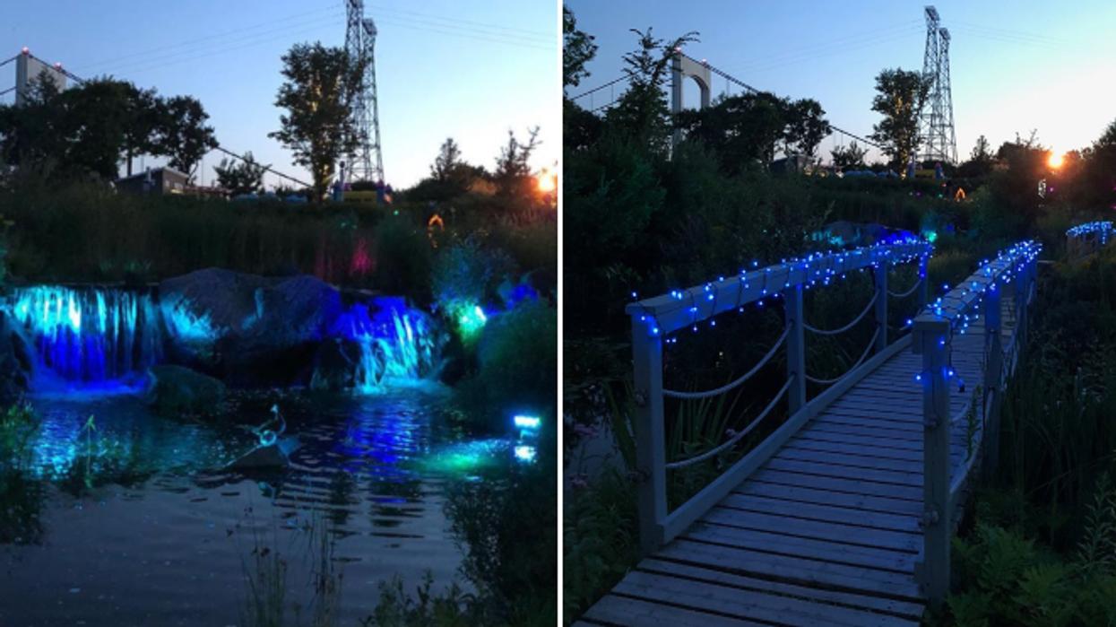 Tu dois absolument visiter ce sentier illuminé à Québec pour passer une soirée magique