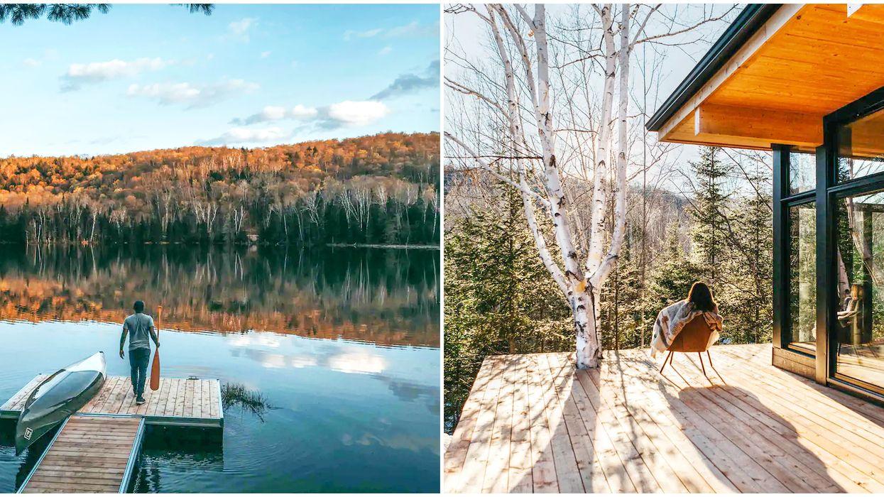 Fall cabin near Ottawa