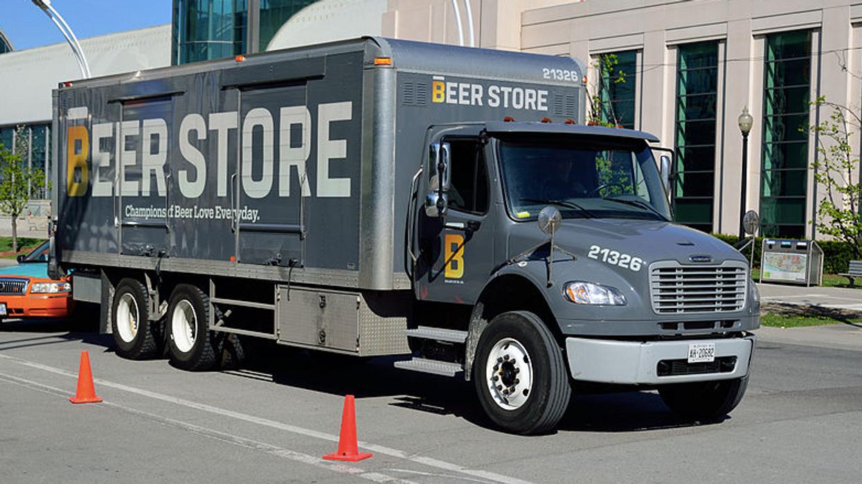 2 Men Stole A Tractor Trailer Full Of Beer In Canada's Latest Beer Heist