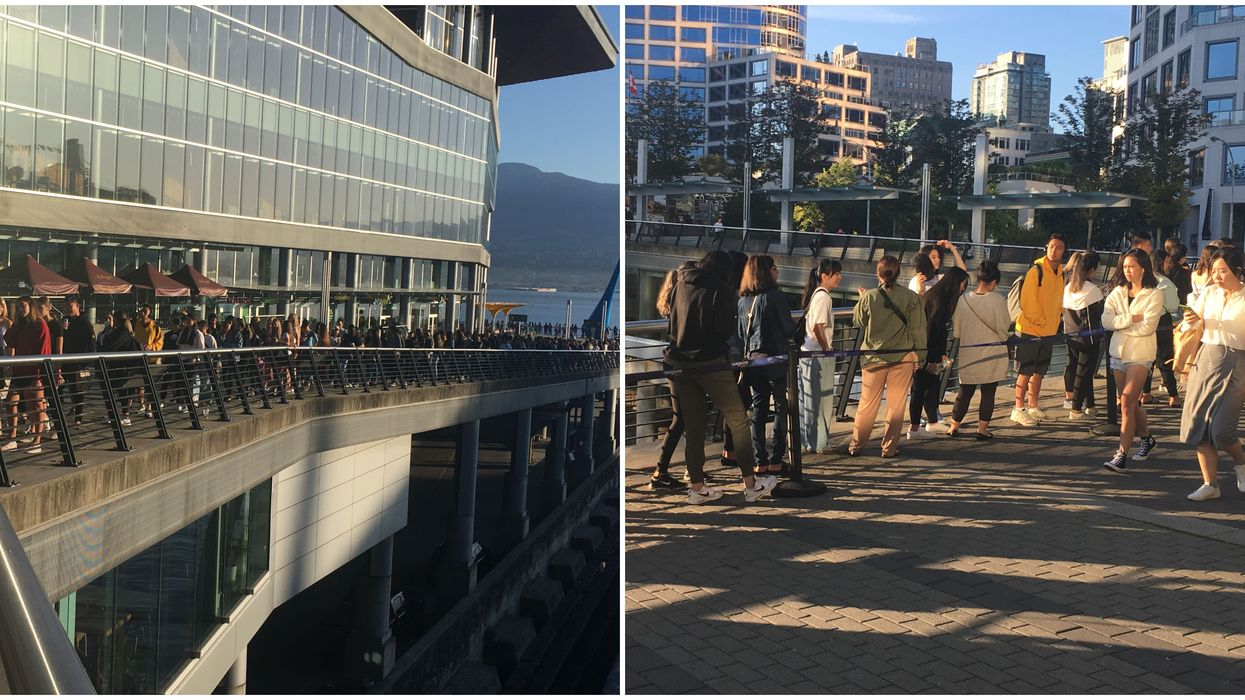Aritzia's Vancouver Warehouse Sale Lines Are So Intense People Are Tweeting Survival Tips