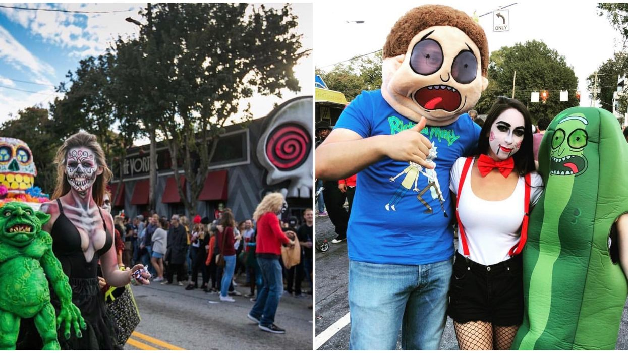 The Atlanta Halloween Parade And Fest In October Is The Ultimate Costume Party For Adults