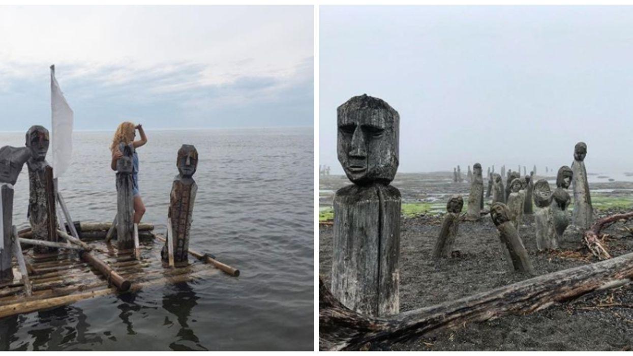 Ce village situé à 6h de Montréal cache une centaine d'étranges sculptures et c'est WOW