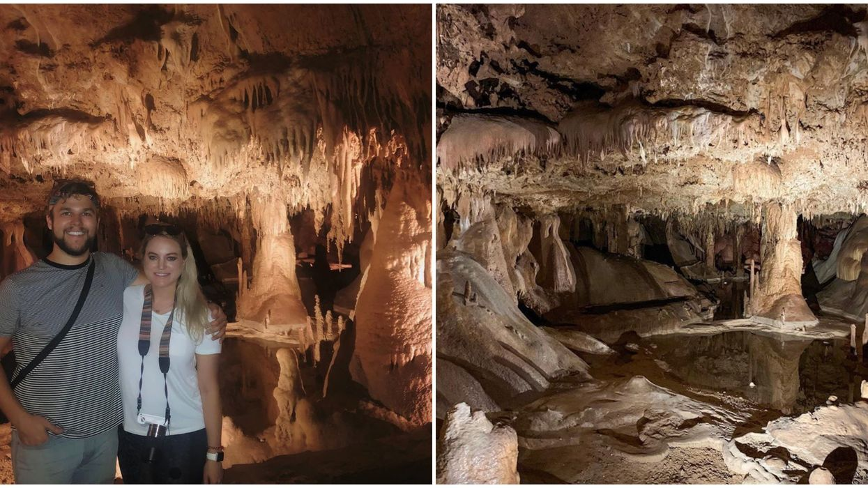 This Natural Cave Near Austin Has Endless Stunning Rooms And Caverns