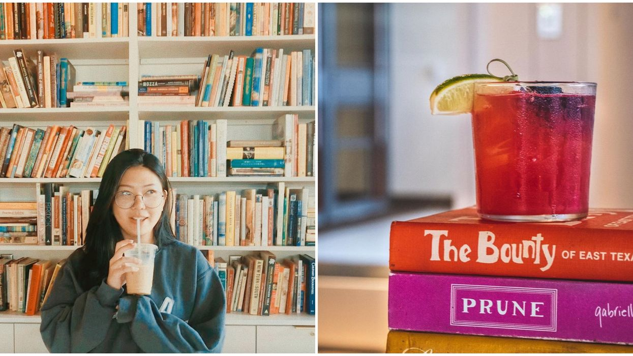 This Austin Book Paradise Is Actually A Full Bar With Book-Themed Drinks