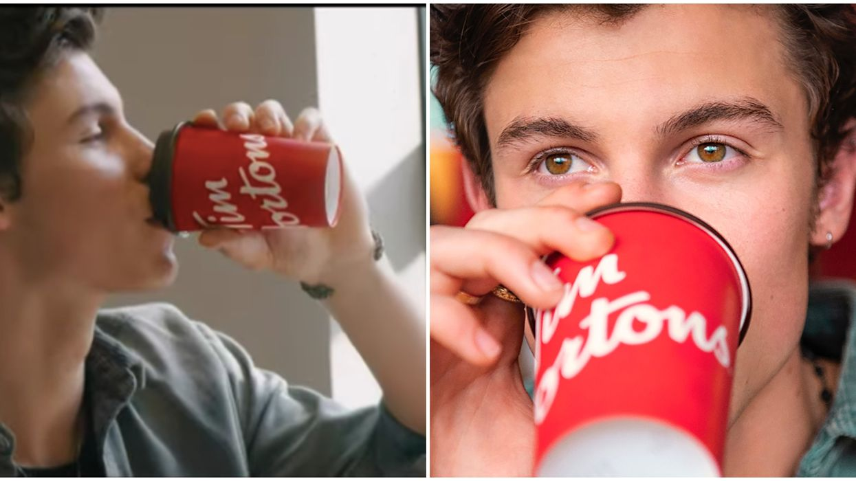 The Shawn Mendes x Tim Hortons' Travel Mugs Are Only Available In These Toronto Locations