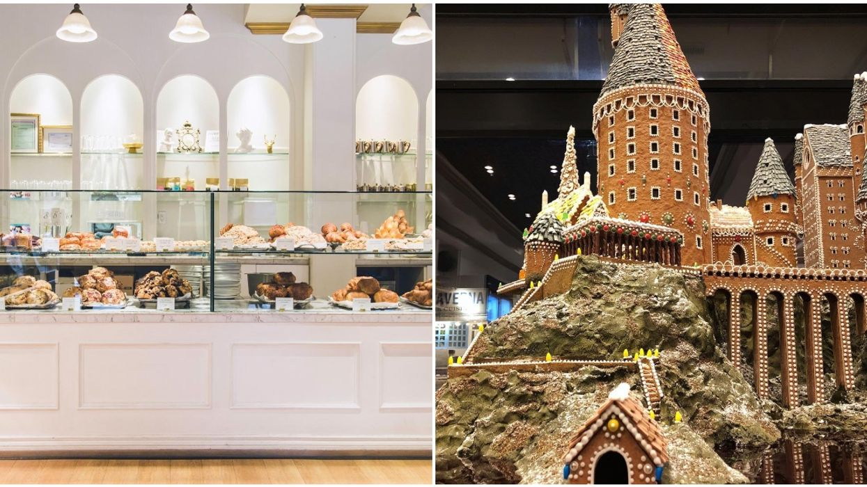 Edmonton Bakery Famous For Epic Hogwarts Gingerbread House Is Opening Second Location
