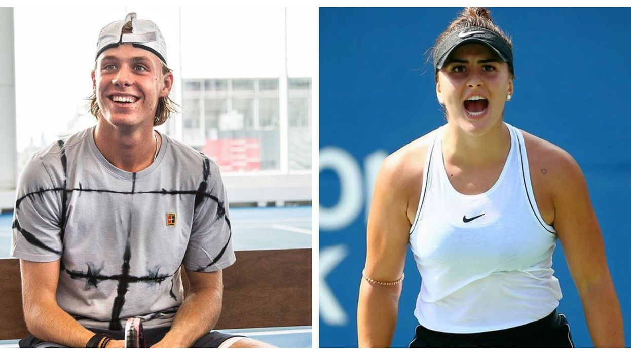 Toronto's Two Young Tennis Stars Are Set To Dominate At The US Open Today