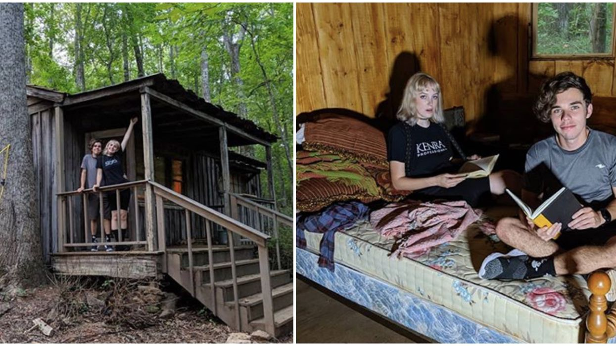 You Can Try To Escape From Hopper & Eleven's Cabin In The Middle Of These Georgia Woods