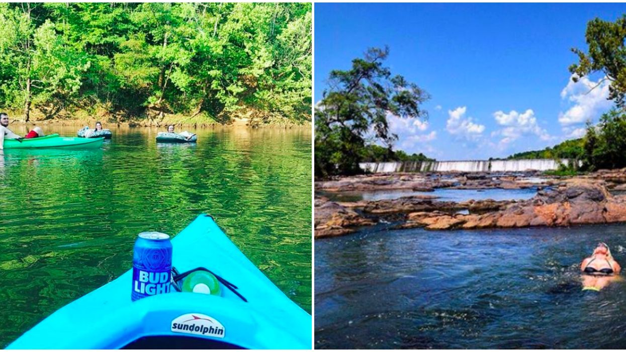 You Can Enjoy A Peaceful Kayak Trip That Ends At A Brewery In Georgia
