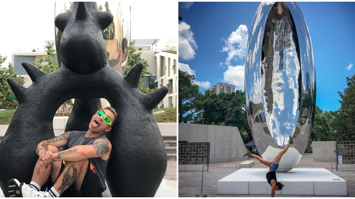 There's A Free Sculpture Garden In The Middle of Houston and It's Absolutely Stunning