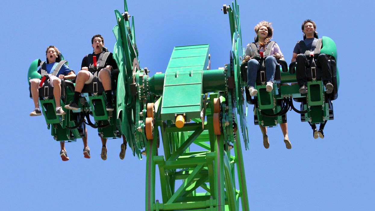 Canada's Getting Its First Free-Fly Rollercoaster Next Spring & It Looks Wild (PHOTOS)