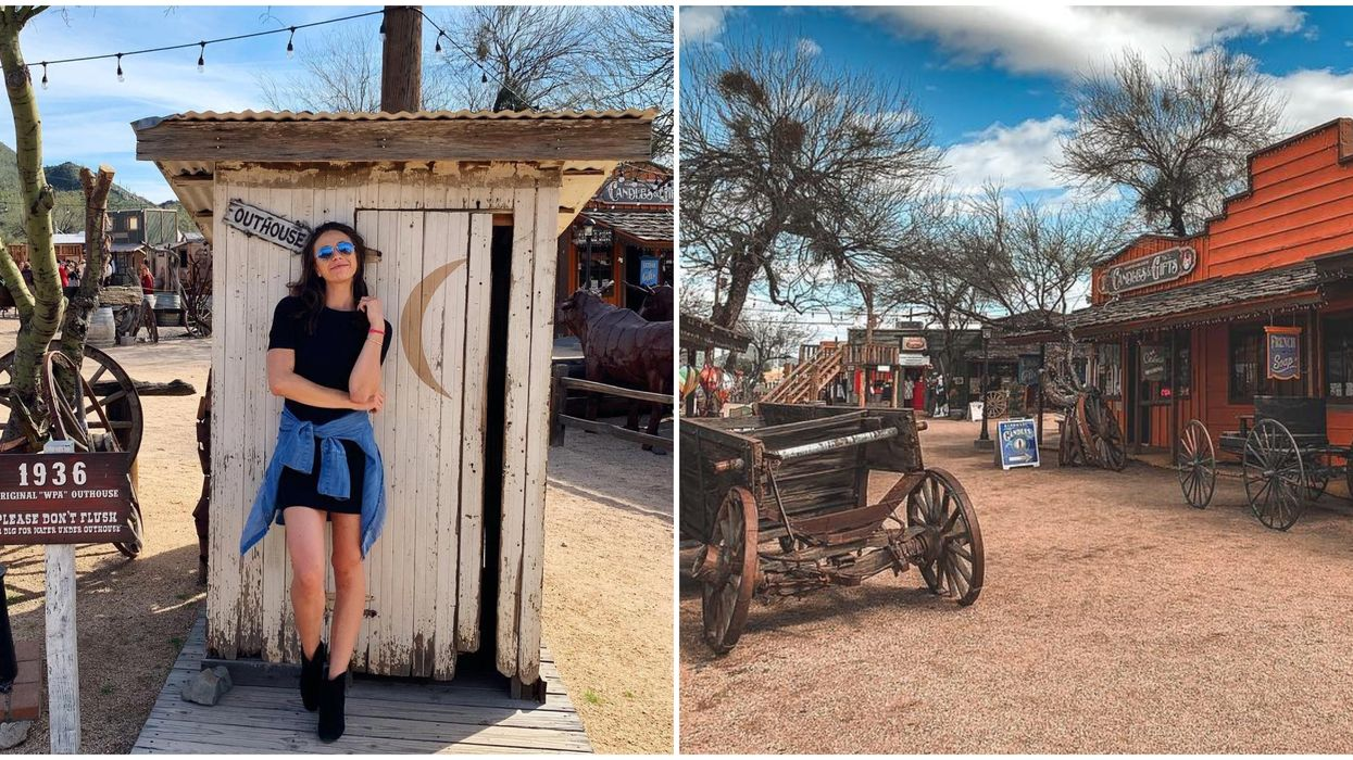 This Wild West Themed Town In Arizona Will Bring Out Your Inner Cowgirl