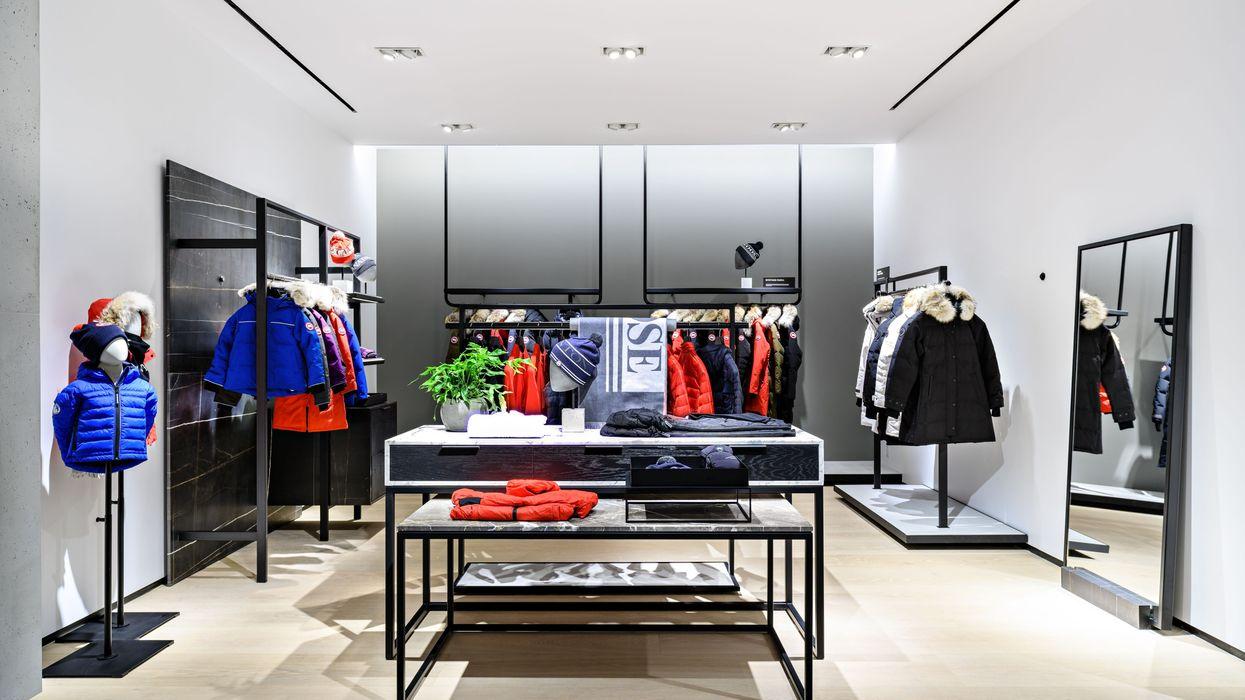 Canada Goose's New Edmonton Store Has Freezers For Dressing Rooms (PHOTOS)