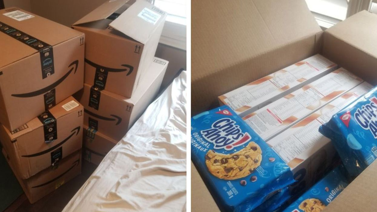 A Toronto Student Is Giving Away Free Snacks After Being Pranked With 100-Box Delivery
