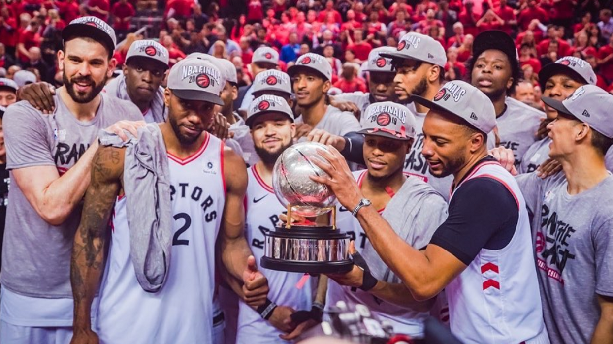 Raptors Unveil New Jerseys For The Season & Fans Are Already Obsessed (PHOTOS)