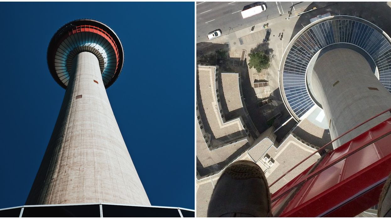 The Calgary Tower Is Still Sitting Closed & No One Knows When It Will Reopen