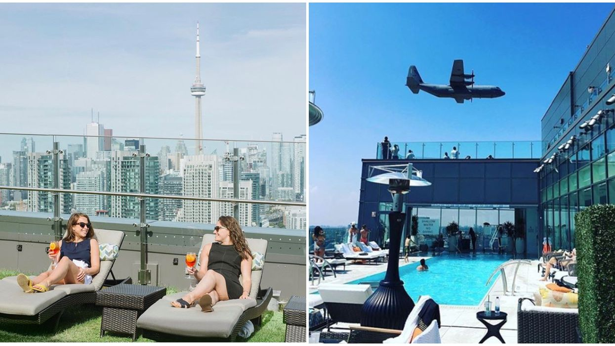 You Can Watch The CNE Air Show At These Toronto Rooftop Parties This Weekend