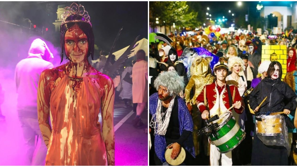 This North Georgia Town Is Hosting A Crazy Halloween Version Of Mardi Gras In October