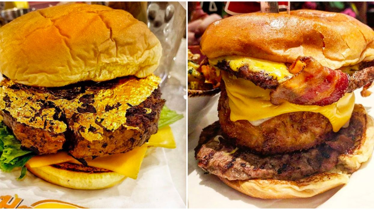 Hard Rock Cafe In Atlanta Now Serves Burgers Topped With 24-Karat Edible Gold