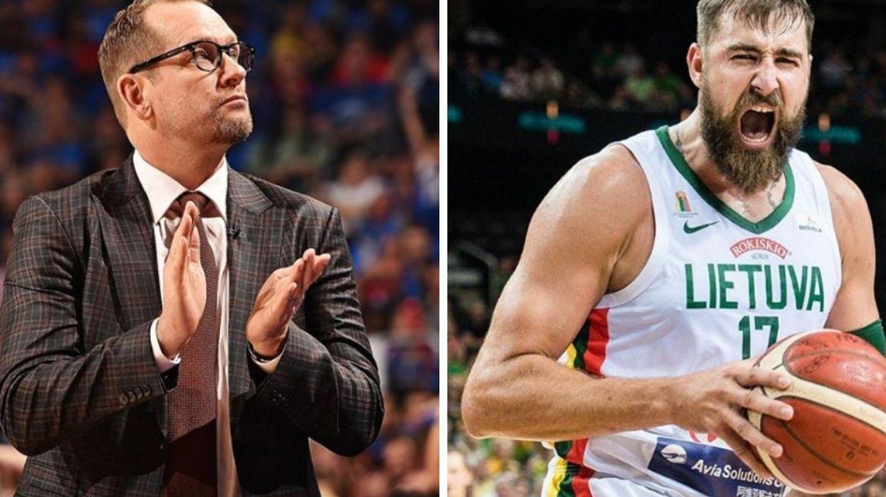Nick Nurse Took Shots At Valanciunas At The FIBA World Cup & JV Shut Him Down Hard