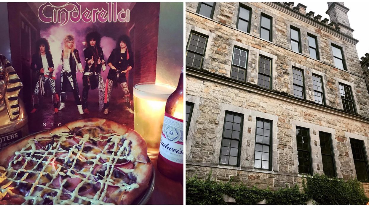 To Get To This North Florida Pizza Place You Have To Venture Into An Old Haunted Hospital