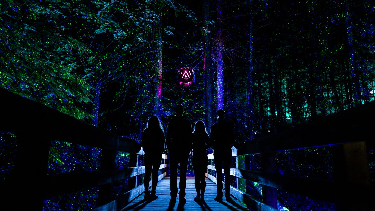 A Magical 1.5 KM Trail Of Lights Is Coming To BC This Winter For The First Time Ever