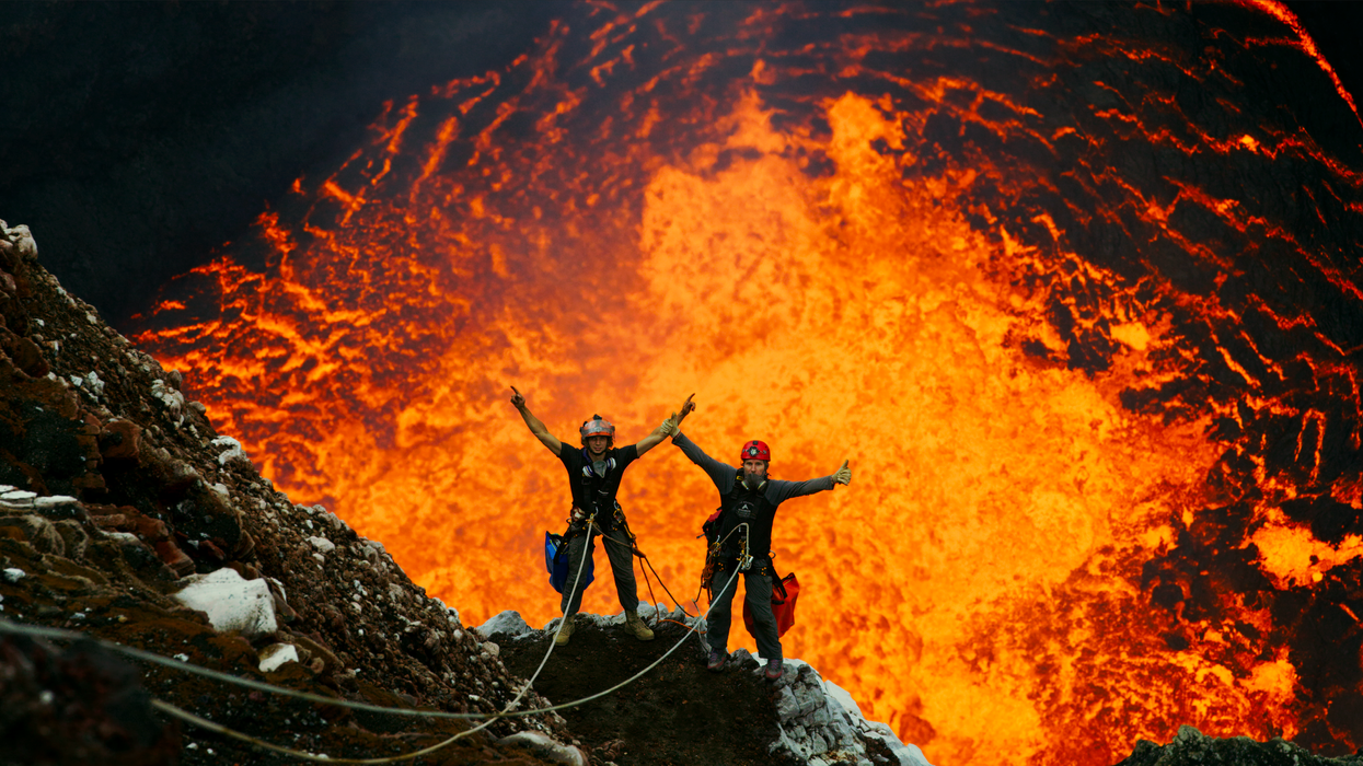 You Can Watch Volcanoes Erupt In 3D On A 4-Story Screen In Atlanta Starting This Month
