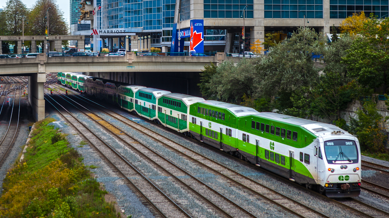 You'll Finally Be Able To Get Free Wifi On The GO Train Starting Next Year