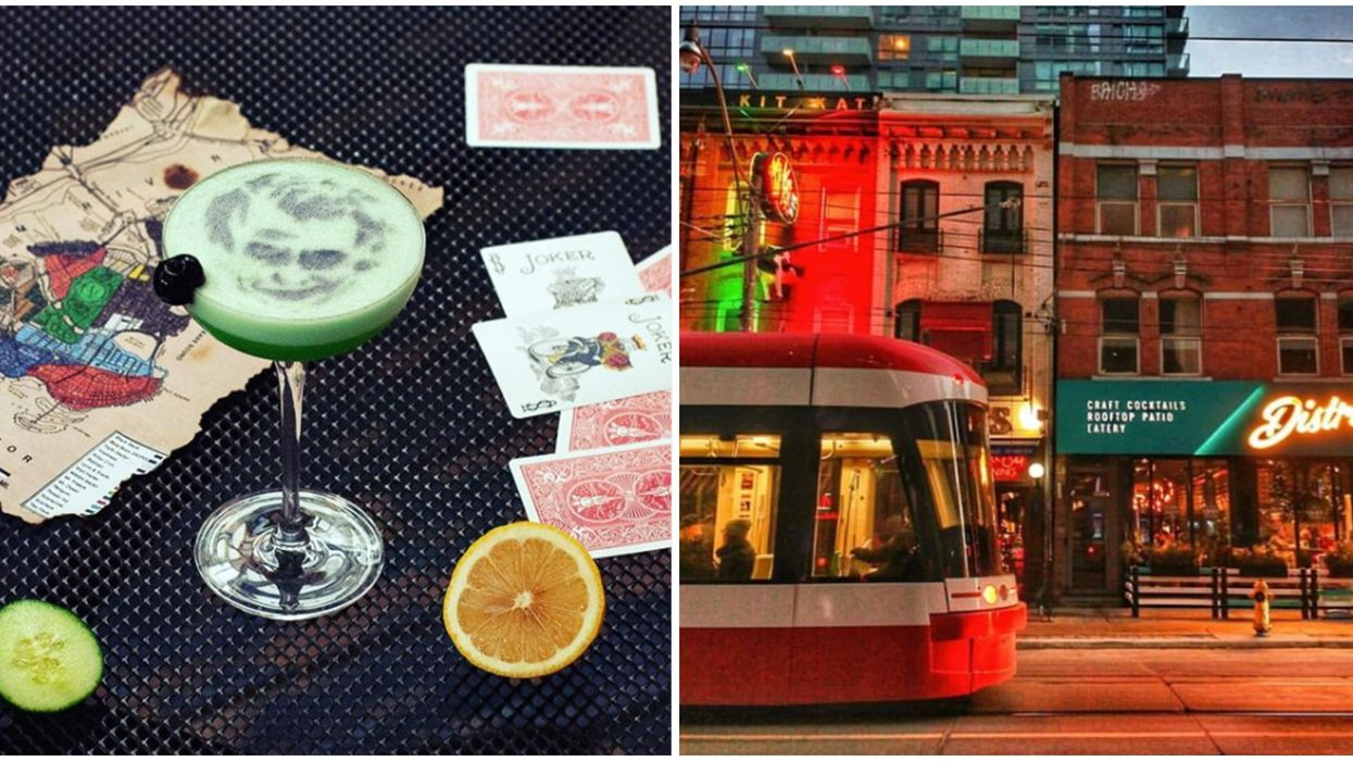 This Toronto Bar Created The Most Unbelievable Joker Cocktail For TIFF This Year