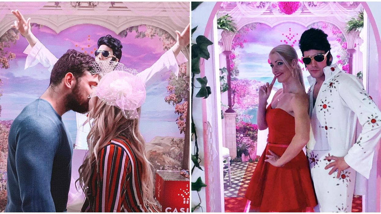 Casino Lac Leamy's Vegas Nights Has A Hilarious Wedding Chapel Photo Booth