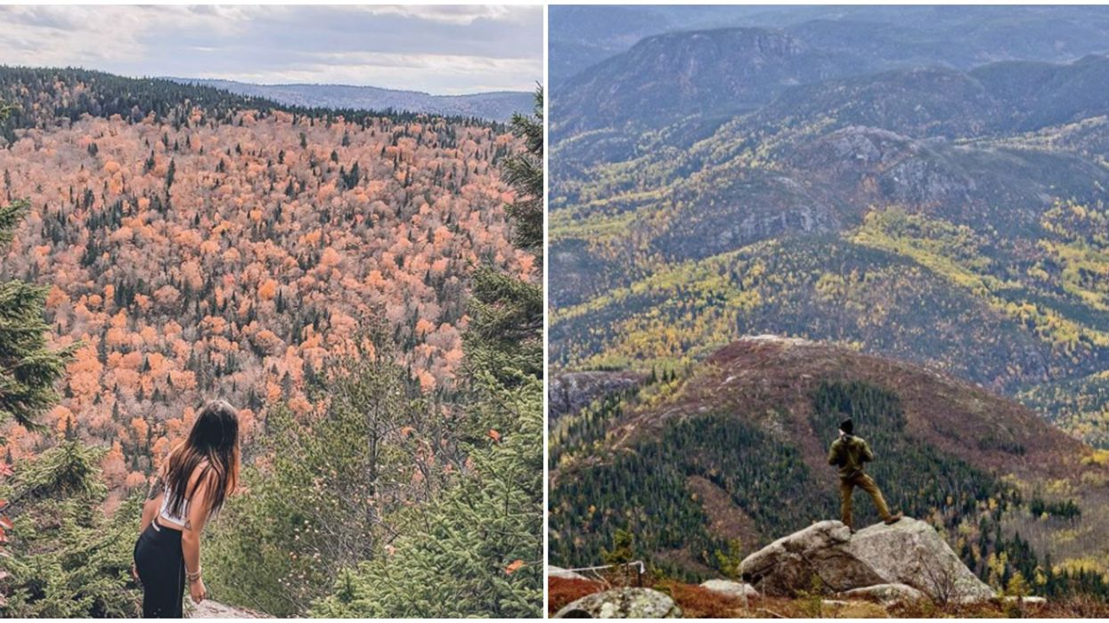 13 magnifiques endroits de randonnées au Québec pour voir les couleurs d'automne